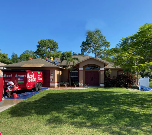 Roof Smart Recent Projects: Cape Coral Shingle Roofing