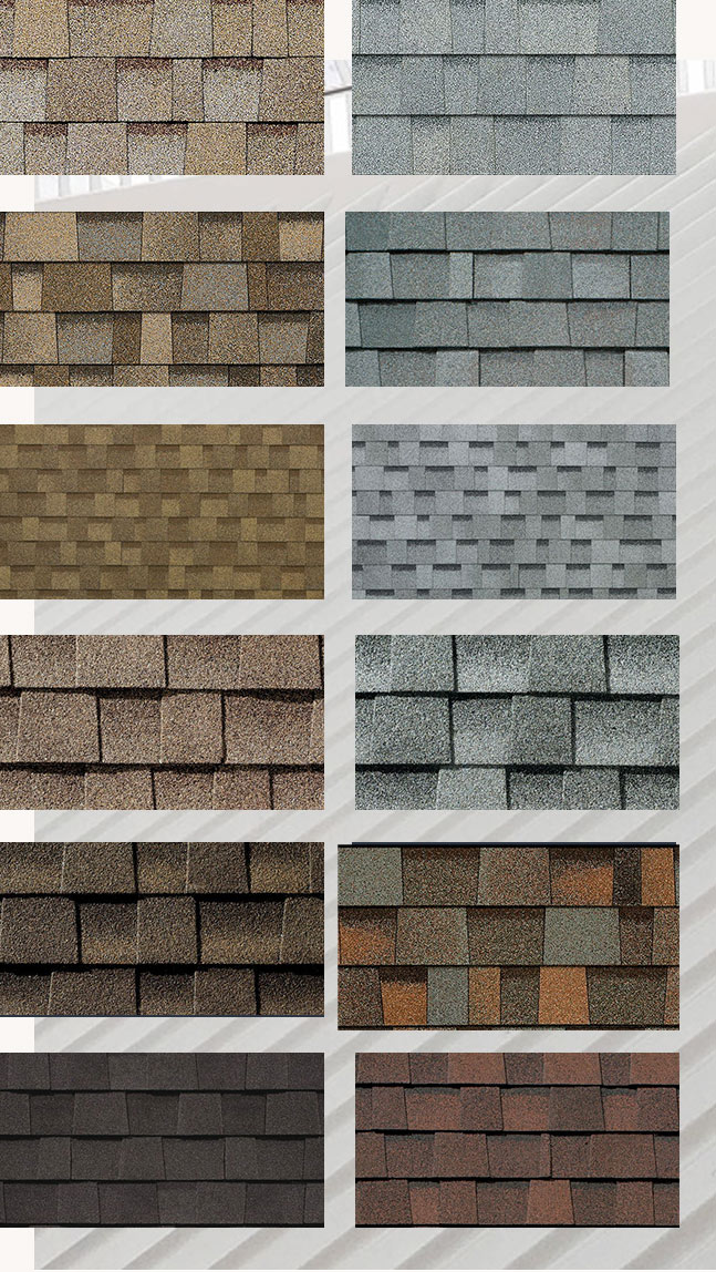 Shingle Roof Swatch Examples | Roof Smart of SWFL