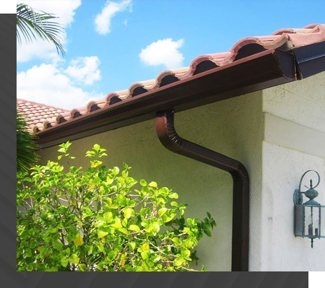 Seamless Gutters Installation for Southwest Florida   Roof Smart of SW Florida
